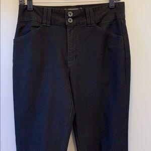NYDJ black  bookcut jeans, Size 4